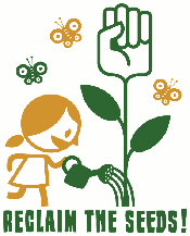 Reclaim the Seeds zadenbeurs workshops tegen patenteren voedsel