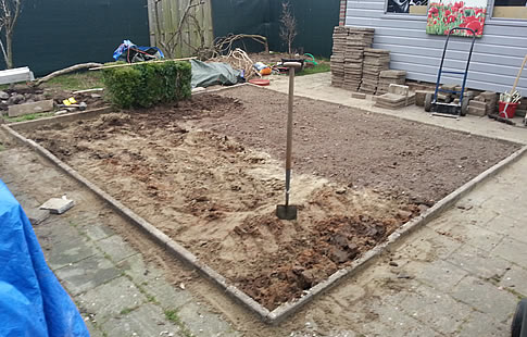 opzetten groentetuin achtertuin bodem