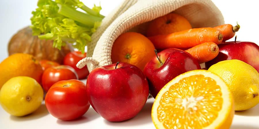 gelukkiger worden van groenten en fruit