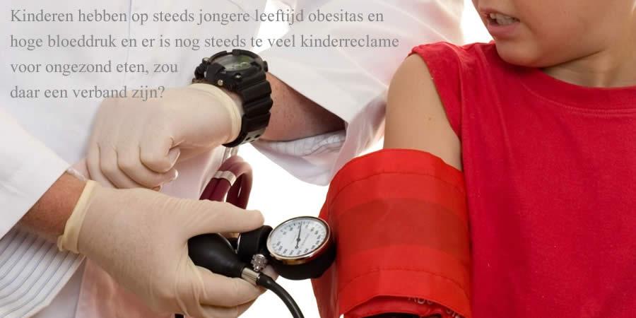 Steeds jonger obesitas hoge bloeddruk