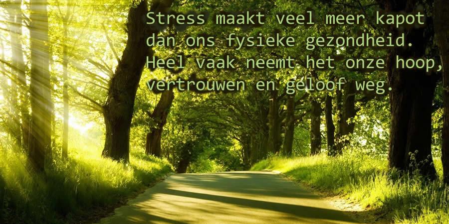 Langdurige stress en depressieve gevoelens