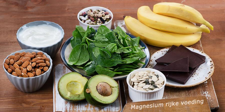 magnesium rijke voeding tekort