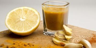 recept gember kurkuma shot drankje