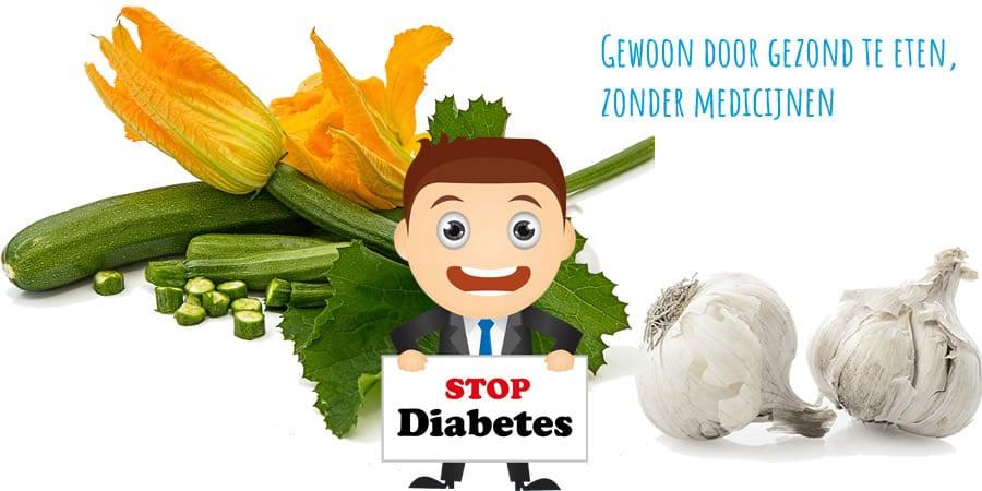 Diabetes Type 2 genezen door gezonde voeding